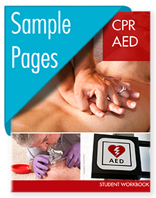 CPR AED Workbook Sample Pages