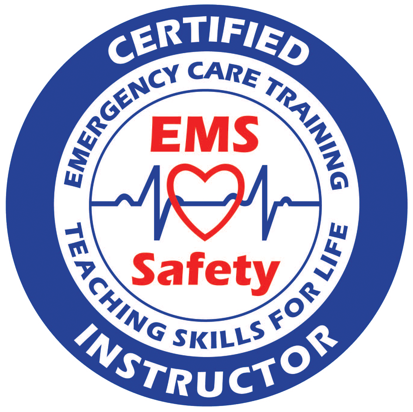 Certified instructor logo ems safety services certified instructor logo cpr aed first aid xflitez Choice Image