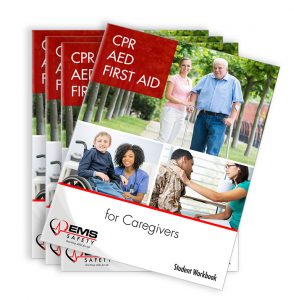 CPR, AED and First Aid for Caregivers 4 pack