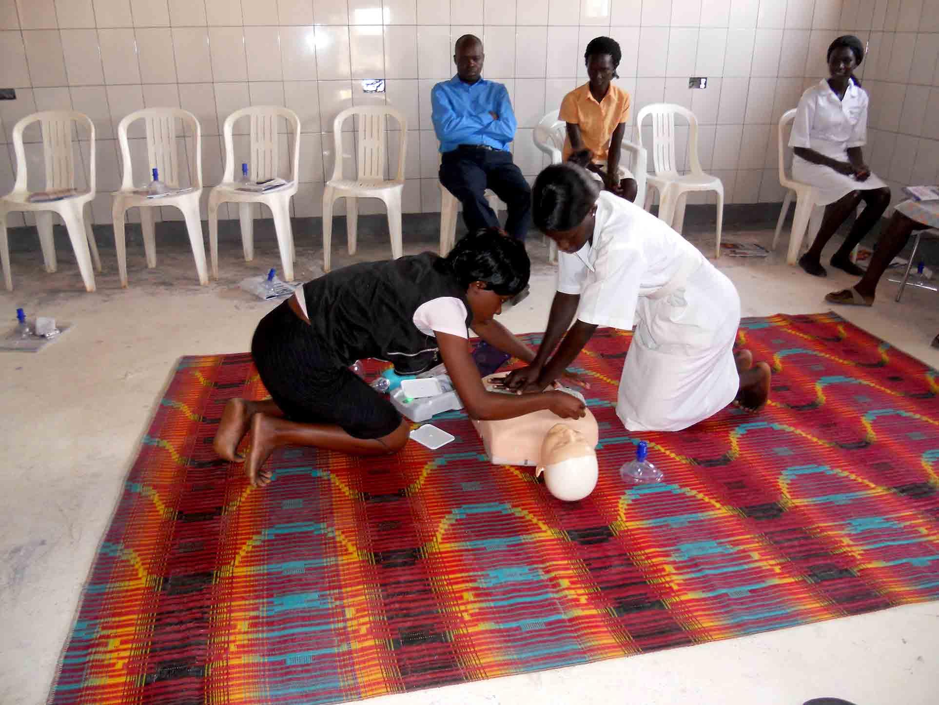 Uganda CPR AED Training