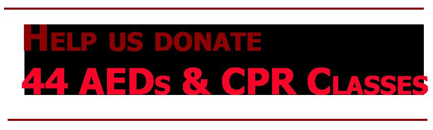 help us donate