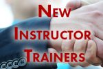 New Instructor Trainers