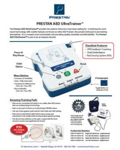 Prestan AED UltraTrainer Features