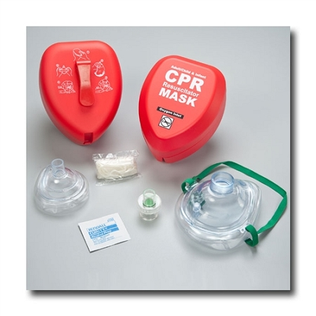 CPR Masks Clam Shell