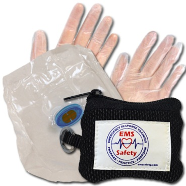 CPR Shield & gloves