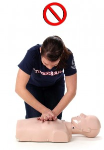 Wrong CPR Method