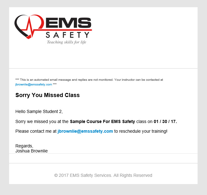 portal instructions ems safety