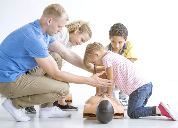 Teaching CPR to Children - Extra Skills Practice
