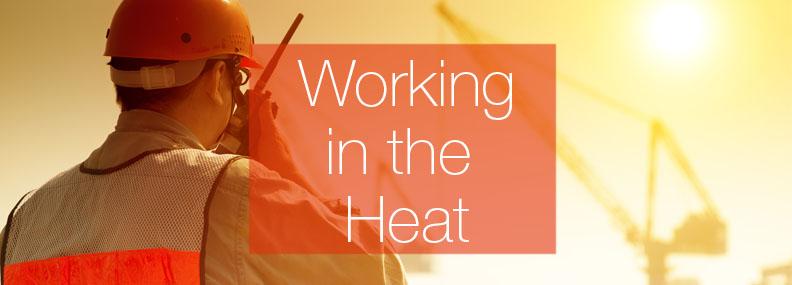 Working in the Heat Header