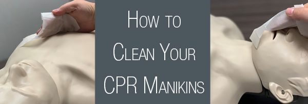How to clean your cpr manikins header