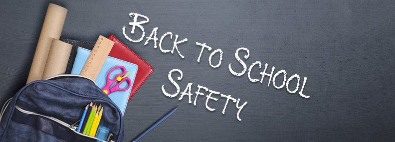 Back to school safety blog header