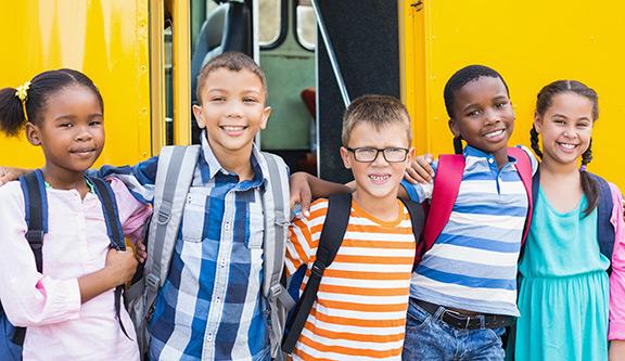 Back to school safety kids