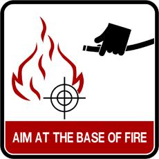 extinguisher - aim