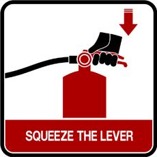 extinguisher - squeeze