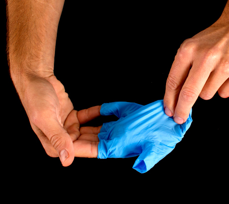 Glove-removal-dispose