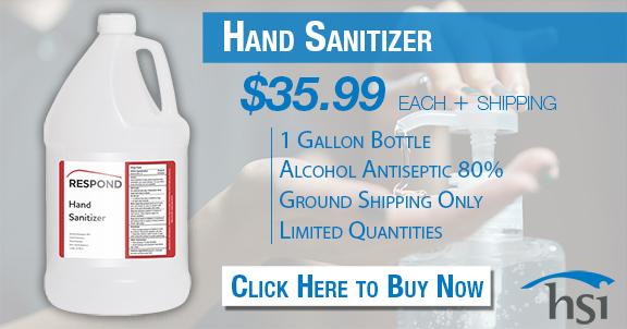 1 gallon hand sanitizer bottle