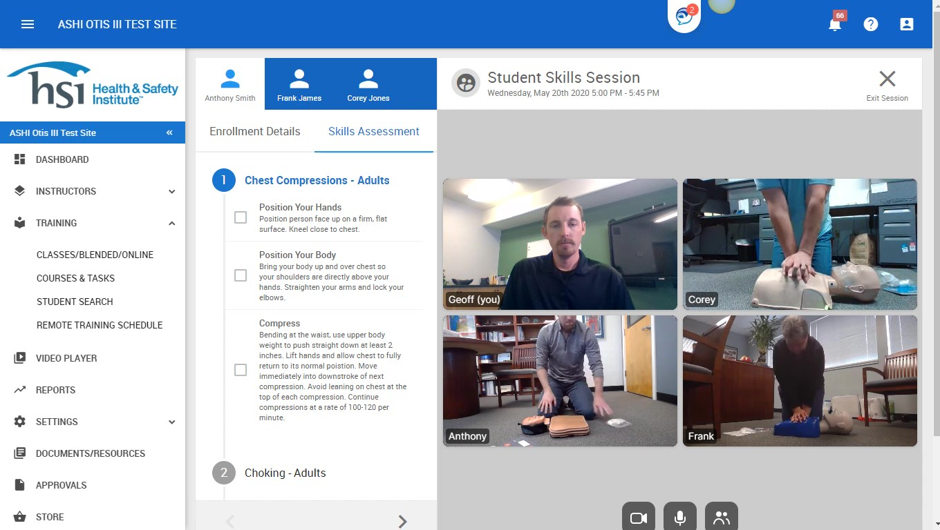 Online CPR Training During COVID-19