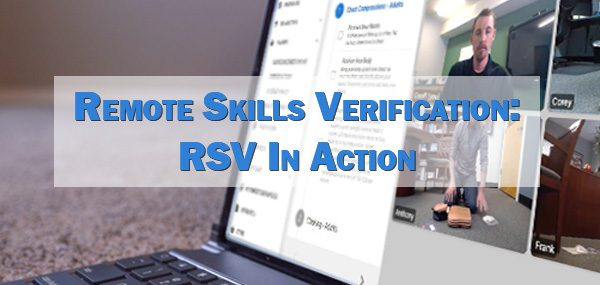 Remote Skills Verification Training