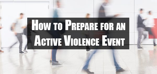 Active Violence Emergency Training