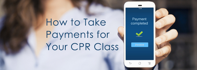 CPR Class Payment Process