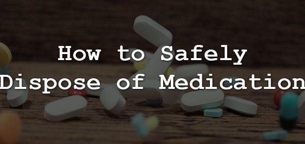 Medication Dispose Tips