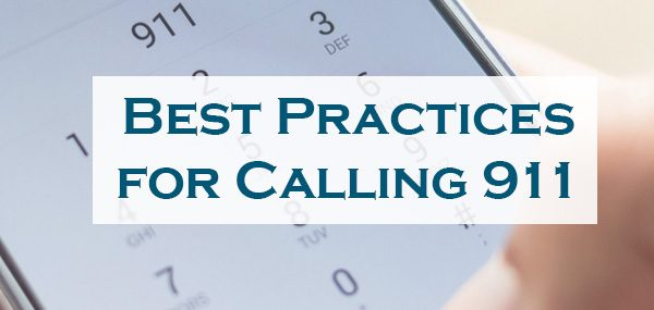 Calling 911 Emergency Tips