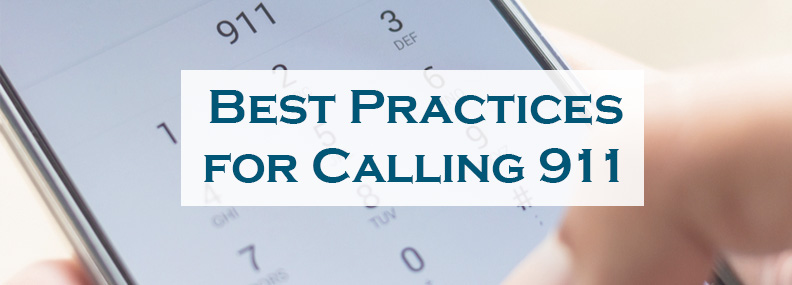 best practices for calling 911